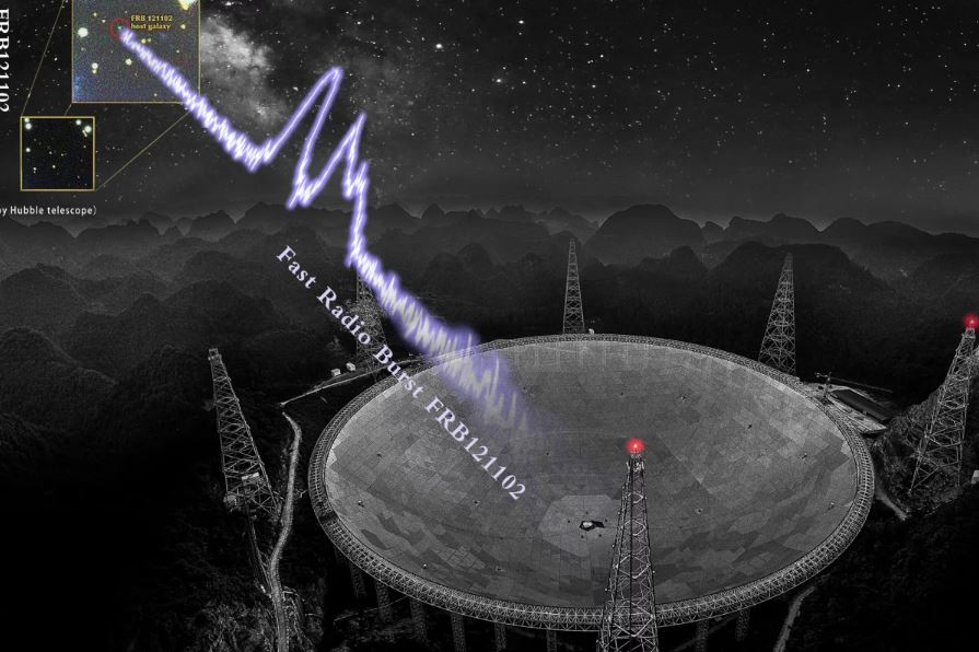 Тайна быстрых радиовсплесков усугубляется бурной активностью FRB 121102