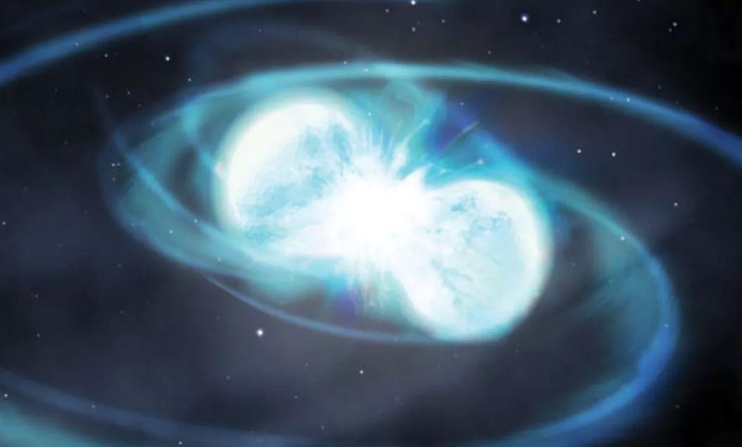происхождение необычно тяжелых двойных нейтронных звезд