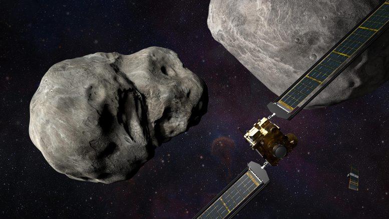 НАСА готовится к запуску миссию DART по изменению орбиты двойного астероида Дидимос